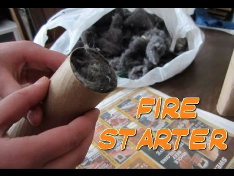 How To Make A Fire Starter 📍 How To With Kristin