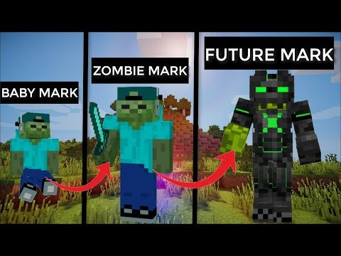 LIFE AS ZOMBIE MARK IN MINECRAFT / WAIT THAT IS ME !!!!
