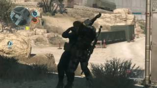 Metal Gear Solid 5 Multiplayer Sniping
