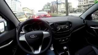 Lada Vesta THE FIRST FPV DRIVING in 4k UHD \ Первая поездка на Весте (обкатка)