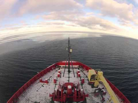 Two Months Aboard An Ice Breaker In Under Five Minutes | Video