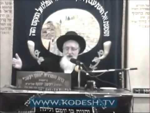 הרה''ג יעקב יוסף זצוק''ל פורים Purim  על מי חל חובת פורים
