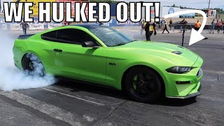 NEW LOOK MAMBA was Asked to RACE a 900HP SHELBY GT500! | 2019 American Muscle Show
