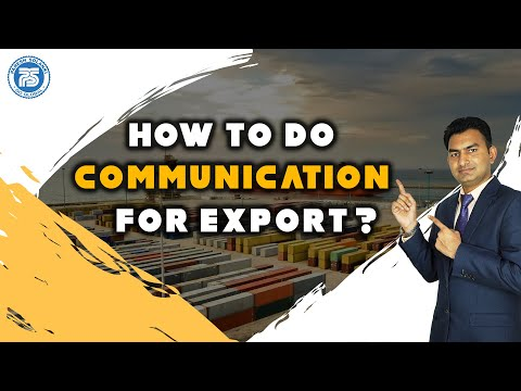 How to do Communication for Export   How to Find Buyers For Export by Paresh Solanki