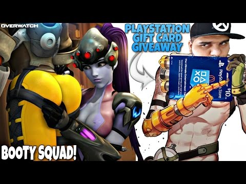 OverWatch BOOTY Squad - PlayStation Gift Card Giveaway!! - YouTube