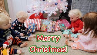 Обложка на видео о Reborn Toddlers Celebrate Christmas! Waiting for Santa, Opening Presents! | Kelli Maple
