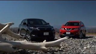特別動画 トヨタ ハリアー ハイブリッド VS 日産 エクストレイル(試乗比較編)