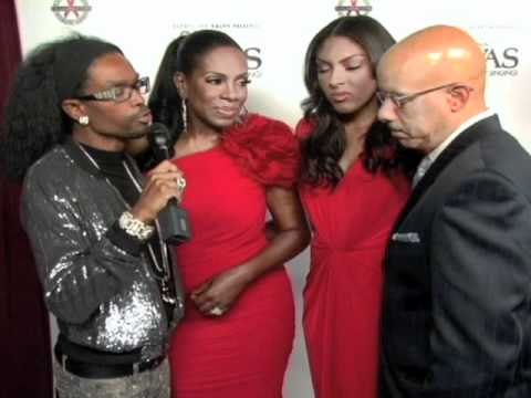 Sheryl Lee Ralph and Family2010