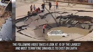Largest sinkhole in the world