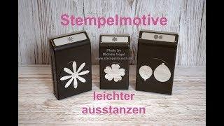 🌼🎈🌸 Stempelmotive leichter ausstanzen - Stampin' Up!
