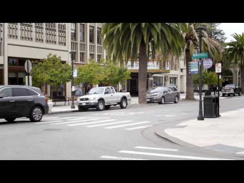 The First Starship Robot Delivery in Redwood City, California