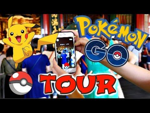Pokemon Go Tokyo Tour // Trainer Tips & Rare Pokemon