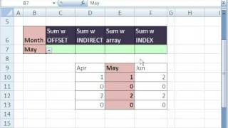 Excel Magic Trick 297: Add Certain Column Only