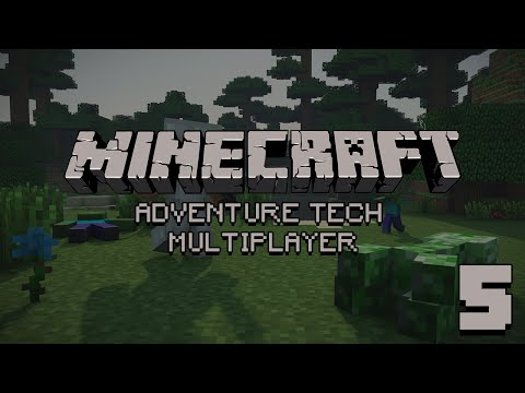 ... na Adventure Tech Multiplayer - #5 Gumki też ważne [MINECRAFT