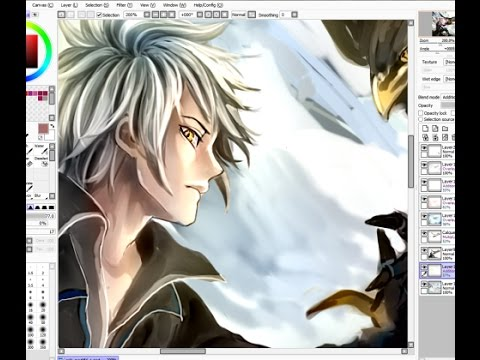 Greyscale Coloring TIPS - Anime / Manga Boy Speedpaint ...