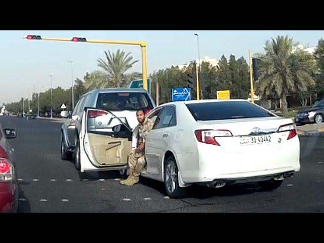 حادث سيارة و هروب المتسبب !