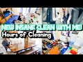 NEW MASSIVE CLEAN WITH ME MARATHON   HOURS OF CLEANING MOTIVATION