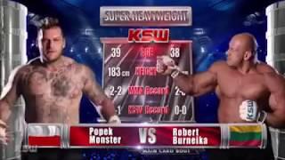 Robert Burneika vs. Paweł
