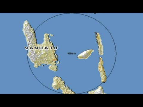 Un terremoto de magnitud 7,3 sacude Vanuatu (Alerta de Tsunami leve)