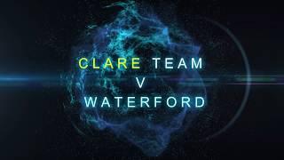 Clare team v Waterford (Munster SHC 2018)