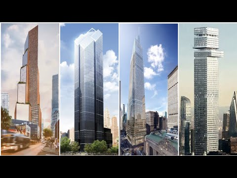 Top 10 Future Tallest Building In NEW YORK 2020-2030