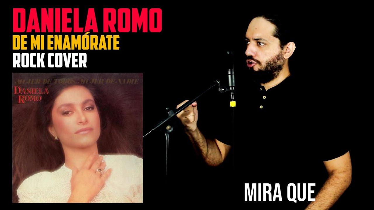 TEMA PATROCINADO | DANIELA ROMO: De Mi Enamórate | Rock Cover
