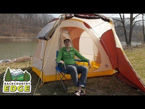 Big Agnes Tensleep Station 4 C&ing Tent & Big Agnes Tensleep Station 4 Camping Tent - YouTube