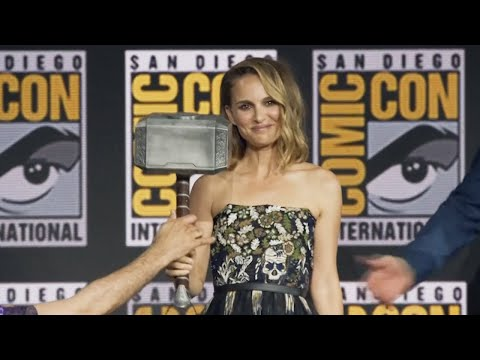 Natalie Portman as female Thor in Marvel Studios' new sequel