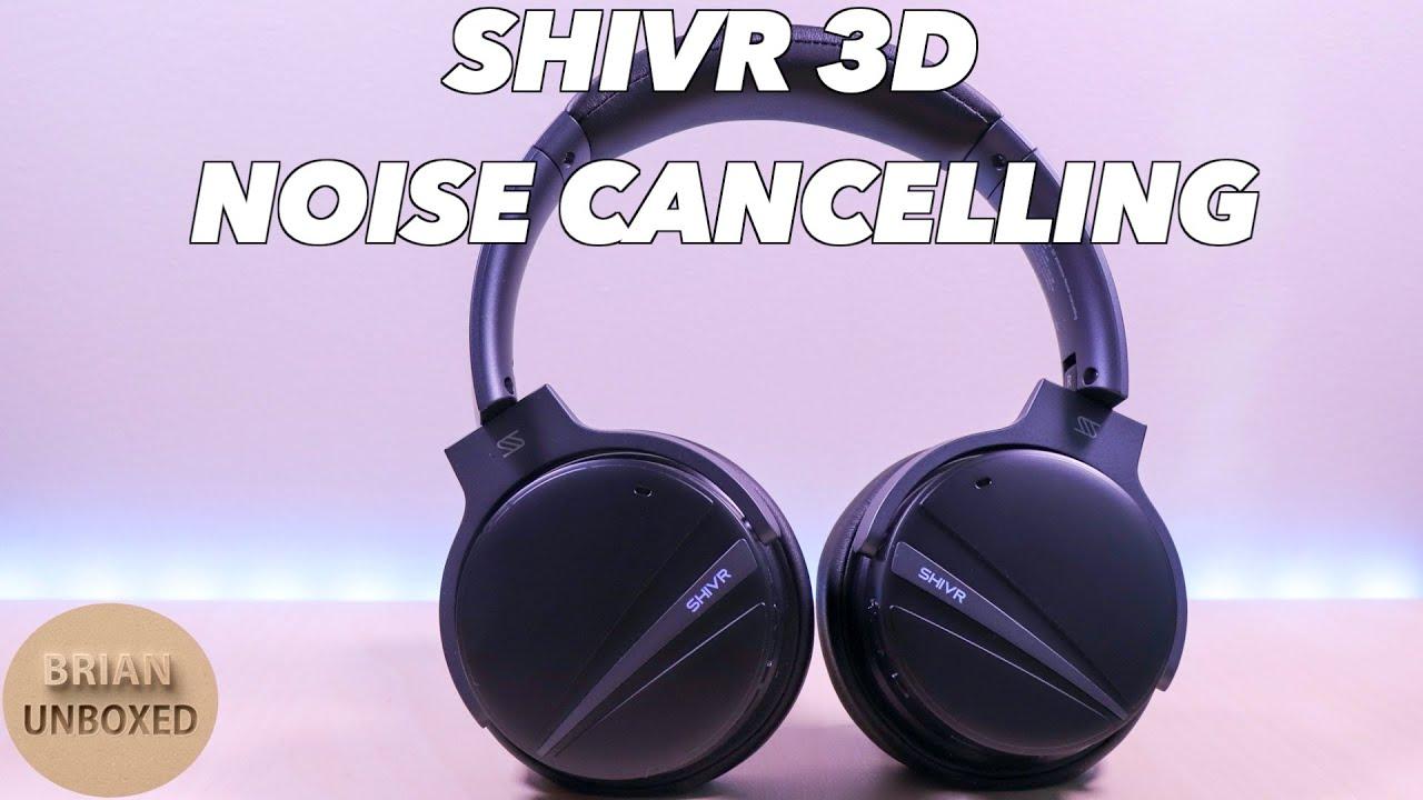 Shivr 3d Noise Cancelling Best Immersive Headphones Music Mic Samples Youtube