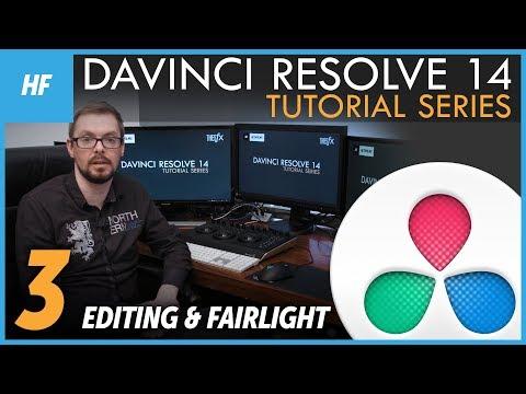 DAVINCI RESOLVE 14 Tutorial for beginners - #03 [ENG CC]