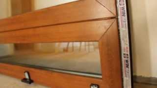 Металлопластиковые двери ЧАСТЬ № 1(ЧАСТЬ № 1 Металлопластиковые двери . Цвет золотой дуб . Тонирование бронза рефлектив , алюминиевый порог..., 2013-07-21T10:08:10.000Z)