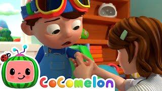 Boo Boo Song! | CoComelon Nursery Rhymes & Baby Songs | Moonbug Kids