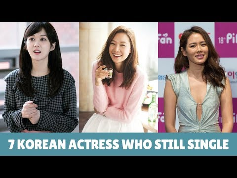 7 Korean Actress Who Are Still Single