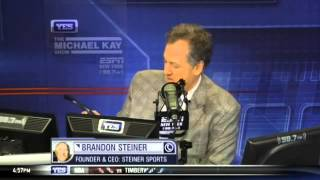 "Brandon Steiner on his ""Captains of New York"" event - The Michael Kay Show"