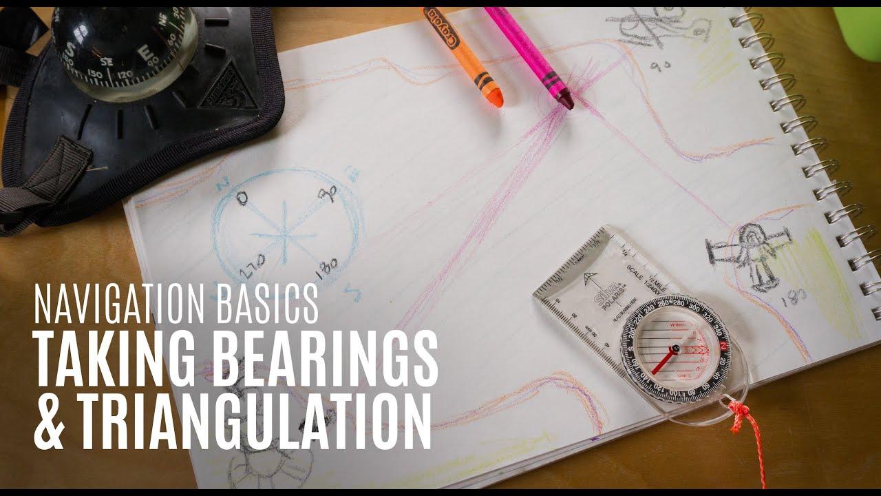 Kayak Navigation Basics - Taking Bearings & Triangulation - Kayak Hipster