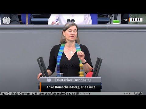 Anke Domscheit-Berg, DIE LINKE: Eine digitale Gesellschaft muss für alle gut sein!