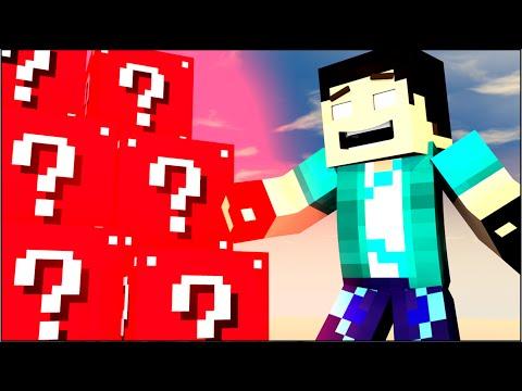 Minecraft - LUCKY BLOCK VERMELHO!! INCRÍVEL!