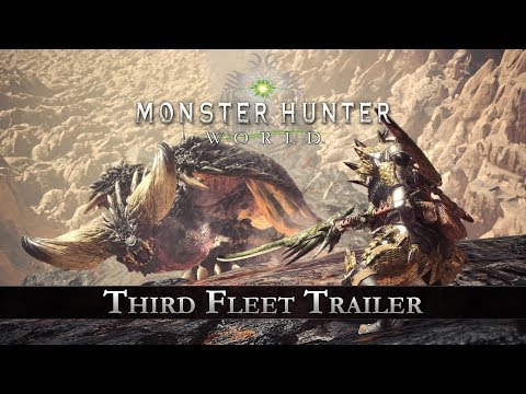 Monster Hunter: World - Third Fleet Trailer