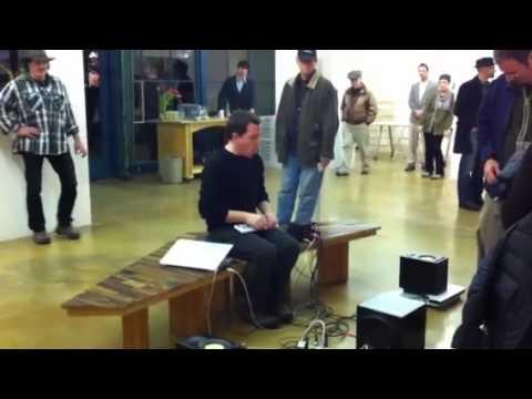 Swarm Gallery - Seth Cluett sound performance
