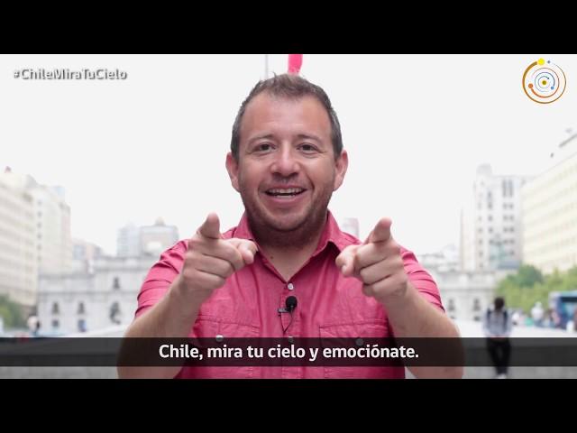 Gabriel León te invita a participar del Día de la Astronomía 2018