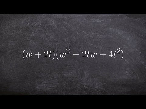 Multiplying a Binomial by a Trinomial - Math Tutorial from YouTube · Duration:  5 minutes 5 seconds