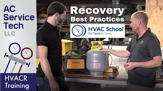 Refrigerant Recovery Training! Tips, Problems, Best Practices, Setup!
