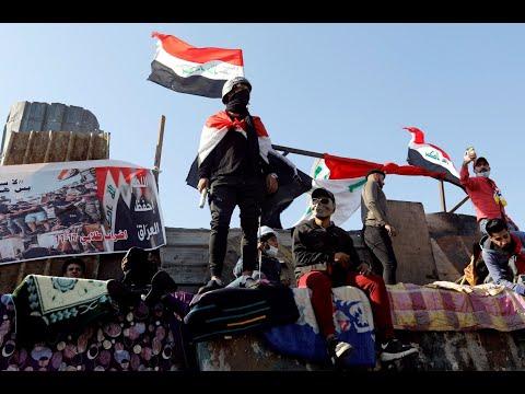 العراقيون يستعيدون جسر الأحرار في بغداد  - نشر قبل 3 ساعة