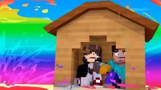 Minecraft: DESAFIO DA BASE 100% SEGURA CONTRA TSUNAMI DE ARCO IRIS  ‹ JUAUM ›