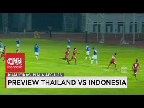 Jelang Thailand Vs Indonesia di Kualifikasi Piala AFC U-16