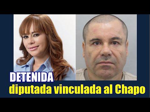 """Detienen a diputada vinculada a """"El Chapo"""" Guzmán"""