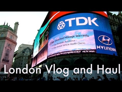 London Haul and Vlog!