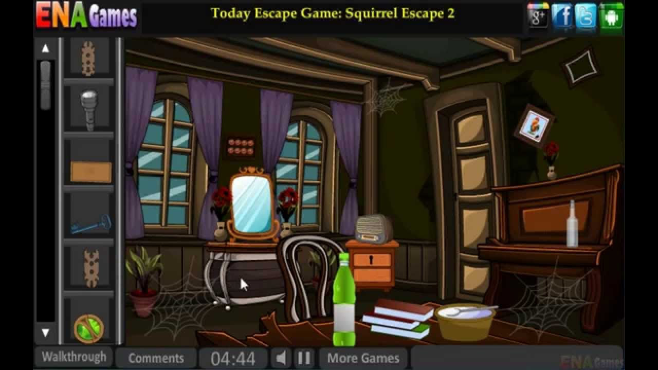 Halloween Room Escape Walkthrough Youtube