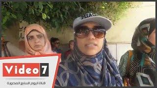 """العاملون بإدارة الشيخ زايد يتظاهرون أمام """"التعليم"""" لتقنين أوضاعهم"""