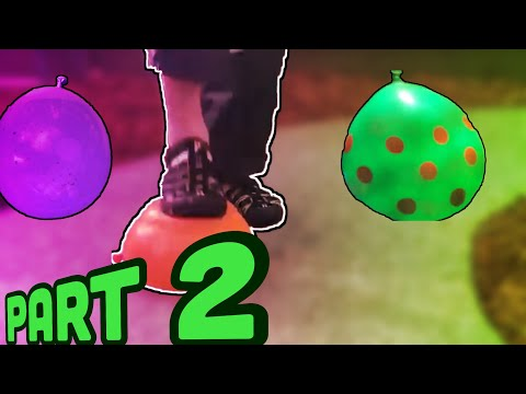 8 Ways To Pop A Water Balloon Part 2